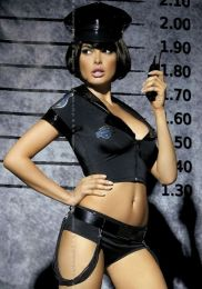 Obsessive Sexy Police Set Costume OL0198