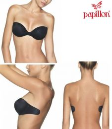 Papillon Push up Enigma - Seamless C-String Lace PA1010/MY-3774-Black
