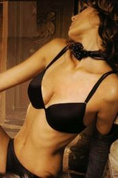CLUB 55 PA2489 Push up Bra Black