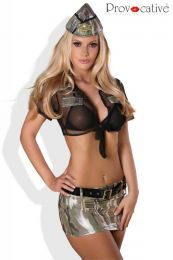 Provocative Soldier Girl PR1280