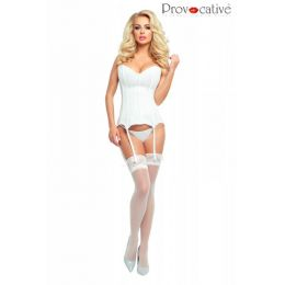 Provocative Corset White PR 4886