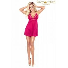 Provocative Candymoon Babydoll Wine PR 5004