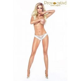 Provocative Candymoon Thong White PR 5026