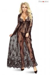 Provocative So Elegant Gown Black PR5080