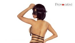 Provocative Harness Bra Black PR6098