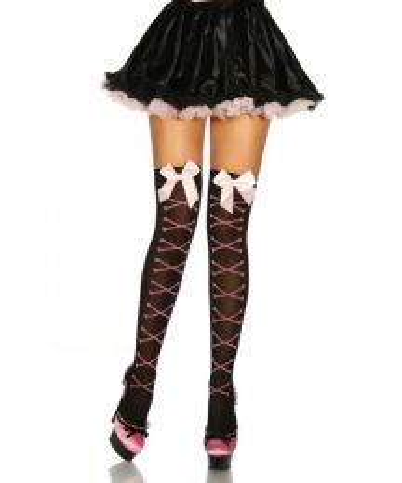 Stockings with Bone Pattern SA11667-2034