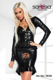 Saresia Wetlook Top & Skirt SA18120