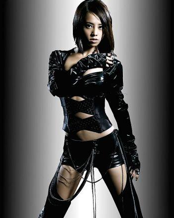 Black PVC Bodysuits SC1105