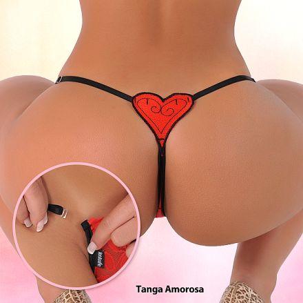 Sensualle Tanga Amorosa Red SL0241