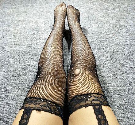 Strass Net Stocking MY 83909