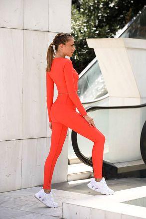 Red Gym Leggings VTEX.0017