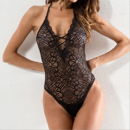 Sexy Lace Teddy Black MY-YN194181