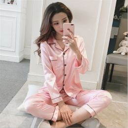 Satin Set Pyjamas Pink MY-YN197187-P