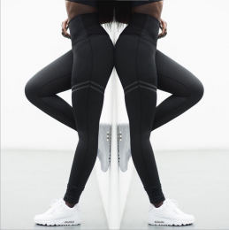 Sporty Black Leggings MY-YN199030-B