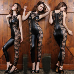 Sexy Lace Black Jumpsuit MY-YN199127-EDEX