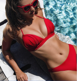 Brazilian Bikini Red MY YN200207-R