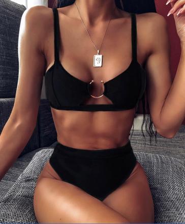 Sexy Bikini Black MY-YN200218-B