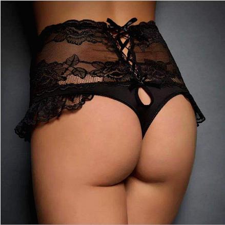 Lace Pantie Black MY-YN2005196-B
