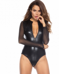 Sexy Leather Teddy MY-YN910123