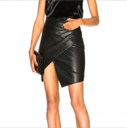 Sexy Leather Skirt Black MY-YN910279