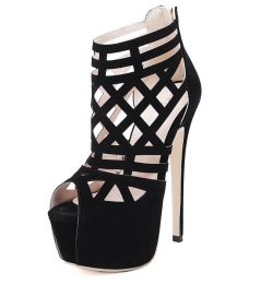 High Heel Shoes Black MY SH116