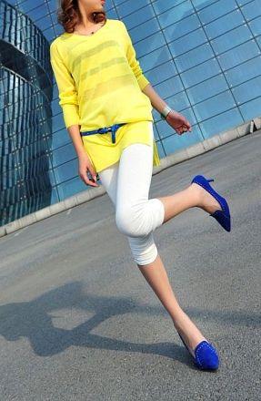 3/4 Summer Leggings MY-K1086