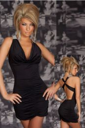 Sexy Stretchy Clubwear Black 10-9313