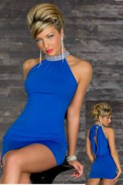 Sexy Stretchy Clubwear Blue 109314