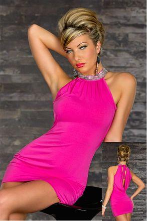 Sexy Stretchy Clubwear Rose 10-9314