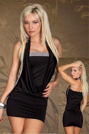 Sexy Stretchy Clubwear Black 109315
